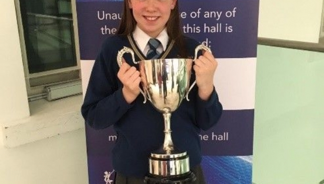 "Anna won the ""Robinson Perpetual Cup"""